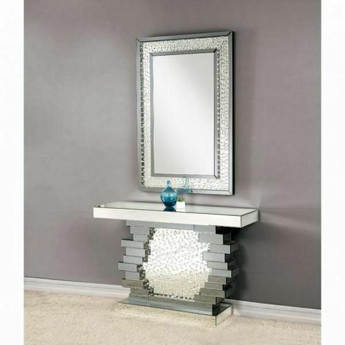 ACME Nysa Console Table - 90232 - Mirrored