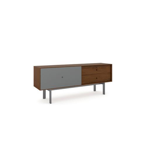 BDI Furniture - Margo 5229 Cabinet in Toasted Walnut Fog Grey