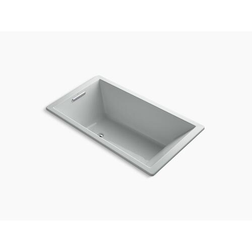"Ice Grey 66"" X 36"" Drop-in Bath With End Drain"