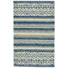 "Avanti-Kelim Alpine Blue - Rectangle - 3'6"" x 5'6"""