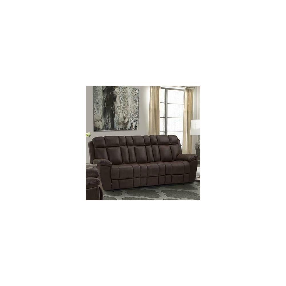 See Details - GOLIATH ARIZONA BROWN Manual Sofa