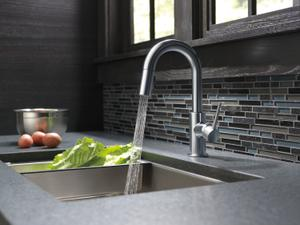 Arctic Stainless Single Handle Pull-Down Bar/Prep Kitchen Limited Swivel Product Image