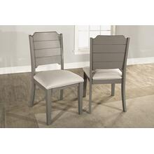 View Product - Clarion Side Dining Chair - Set of 2 - Distressed Gray