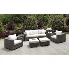See Details - Somani Sofa + 2 Chairs + 2 End Tables + 2 Small Ottomans