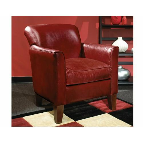 Irene (Leather) Ottoman