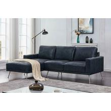 Navy Blue Sectional
