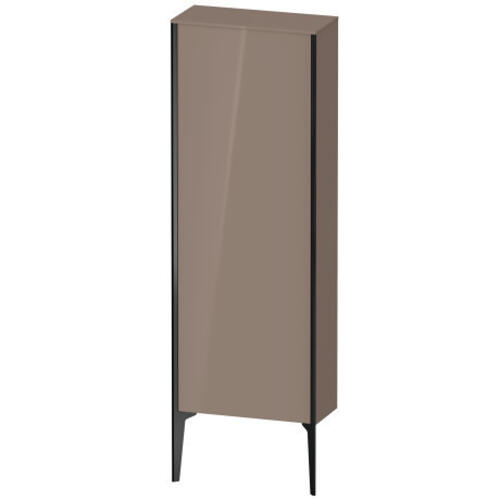 Duravit - Semi-tall Cabinet Floorstanding, Cappuccino High Gloss (lacquer)