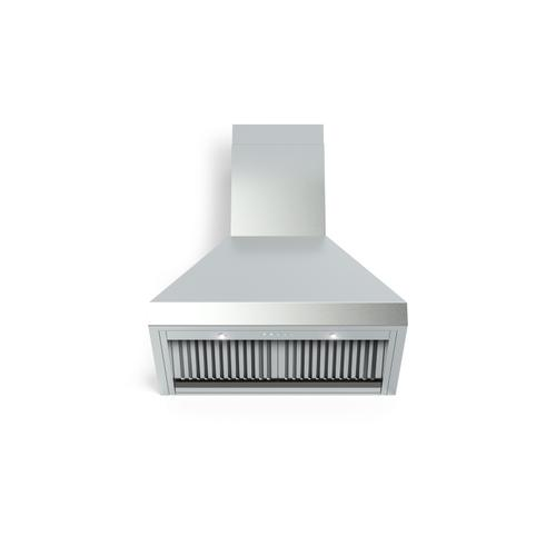 "30"" Designer Chimney Wall Hood- 600 CFM - 4 Speeds"