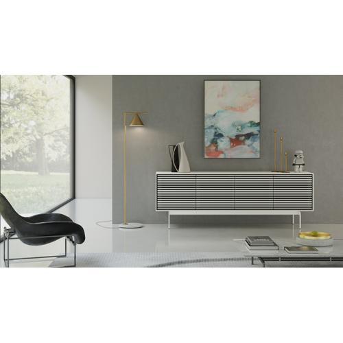 BDI Furniture - Align 7479 Media + Storage Console in Satin White Console Base