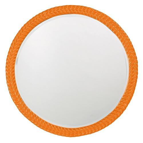 Howard Elliott - Amelia Mirror - Glossy Orange