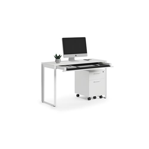 BDI Furniture - Linea 6222 Console Desk in Smooth Satin White