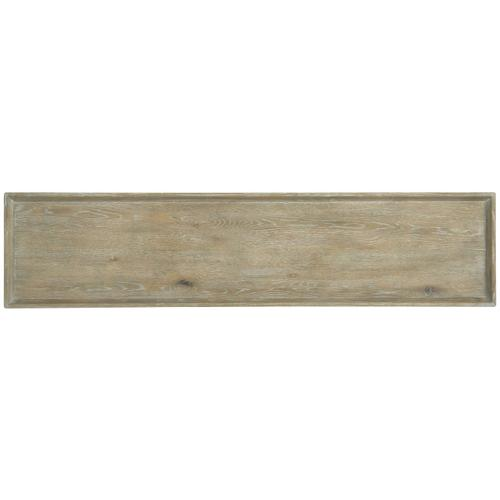 Rustic Patina Console Table in Sand (387)