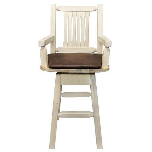 Homestead Collection Captains Swivel Barstool