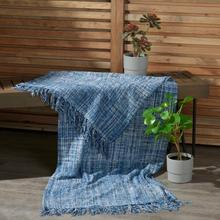 See Details - Outdoor Throws Ih018 Navy 50 X 60 Throw Blanket