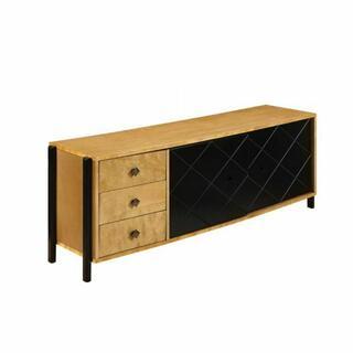 ACME Honna TV Console - 90175 - Natural & Black