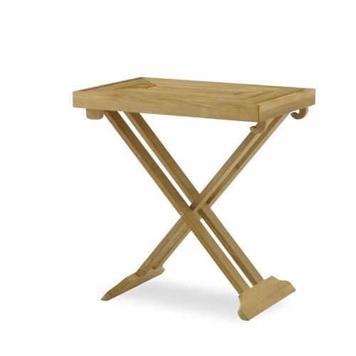 See Details - Litchfield Folding Tray Table