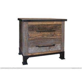 2 Drawers Night Stand