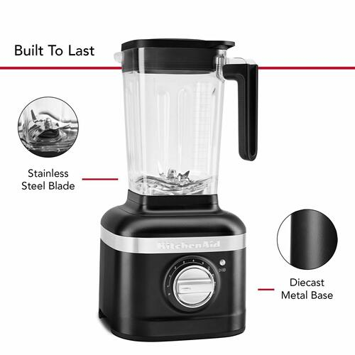 KitchenAid Canada - KitchenAid® K400 Blender with Personal Blending Jar - Black Matte