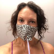See Details - Happy Hour Reusable Face Mask in Cheetah Charcoal