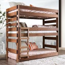 See Details - Pollyanna Twin Triple Decker Bed