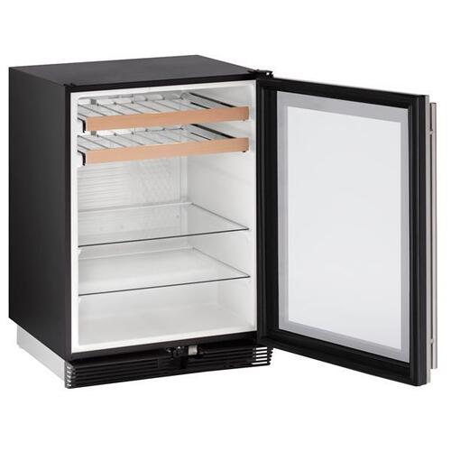 "24"" Beverage Center With Stainless Frame Finish (115 V/60 Hz Volts /60 Hz Hz)"
