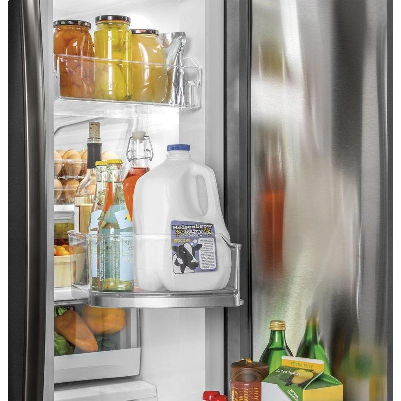GE® 27.7 Cu. Ft. French-Door Refrigerator with Door In Door