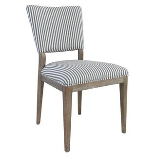 See Details - Phillip Upholstered Dining Chair Striped