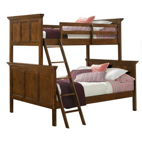 Intercon Furniture - San Mateo Youth Twin over Full Bunk Bed  Tuscan