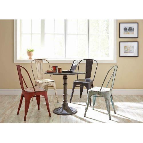 Gallery - Bellevue Rustic Blue Dining Chair