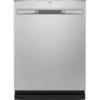 GE® Top Control with Stainless Steel Interior Dishwasher with Sanitize Cycle & Dry Boost Product Image
