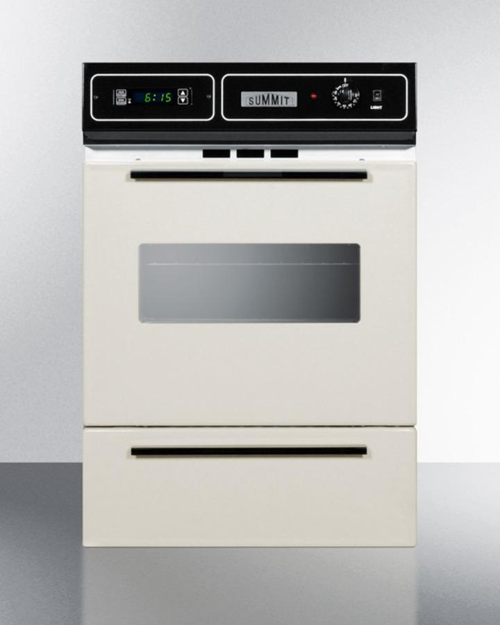 """Summit24"""" Wide Gas Wall Oven"""