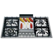 """View Product - Stainless Steel with Stainless Steel Trim 36"""" - Built -in Gas Cooktop"""