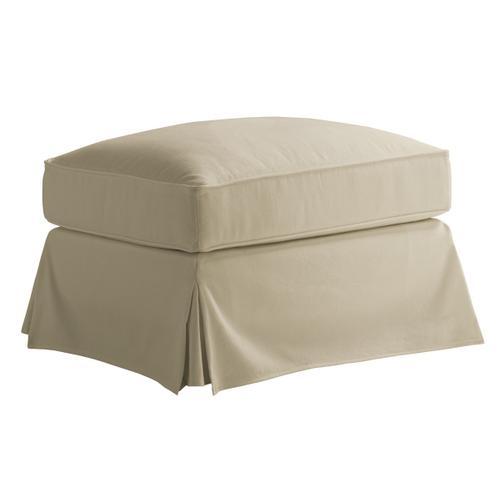 Lexington Furniture - Stowe Slipcover Ottoman - Khaki