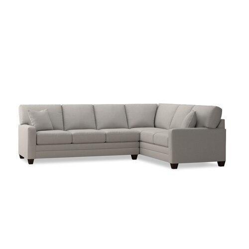 Bassett Furniture - Carolina Thin Track Arm Lg L-Shaped Sect