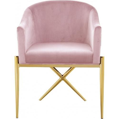 VIG Furniture - Modrest Mancos - Modern Pink Velvet Accent Chair