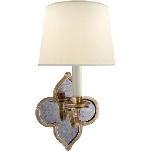 Alexa Hampton Lana 1 Light 7 inch Natural Brass Decorative Wall Light