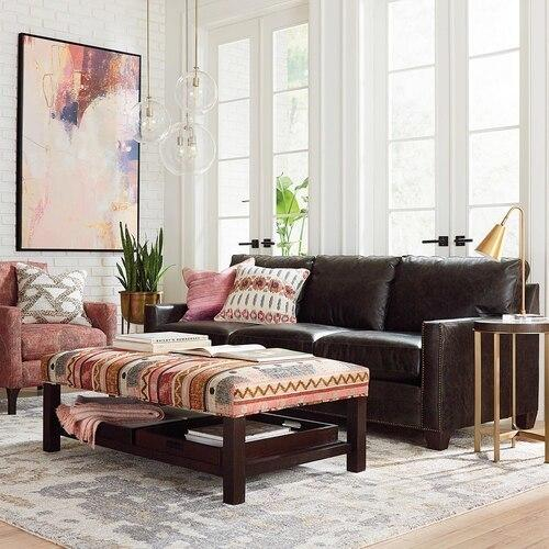 Ladson Leather Great Room Sofa