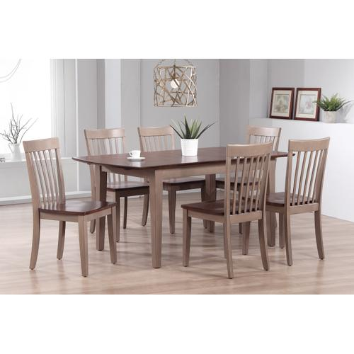 Gallery - Solid Hardwood Butterfly Leaf Dining Table