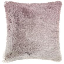 "Shag Tr011 Lavender 20"" X 20"" Throw Pillow"