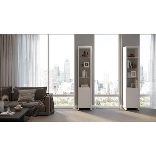 BDI Furniture - Linea Shelves 5801 Single Shelf in Smooth Satin White