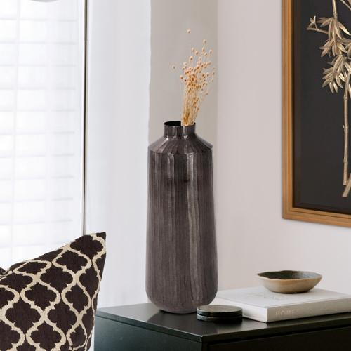 Howard Elliott - Carbon Gray Chiseled Aluminum Jar