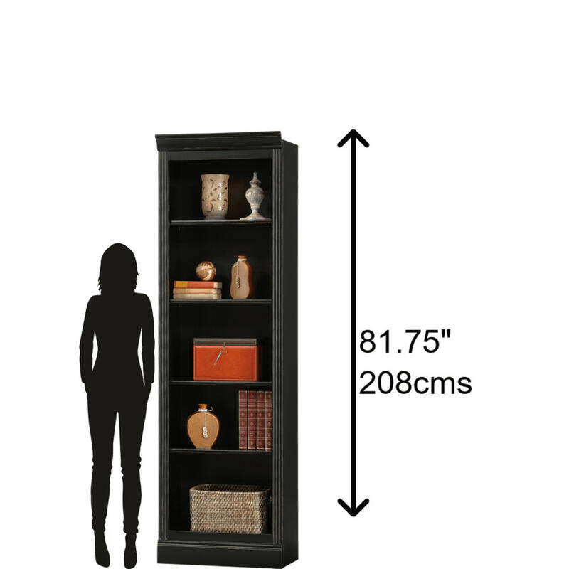 See Details - Howard Miller Oxford Bunching Bookcase 920017