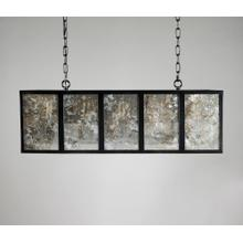 Morgan Rectangular Chandelier w/Bulb