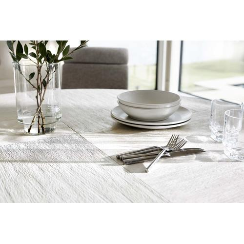 Foundations Dining Table in Linen (306), Light Shale (306)