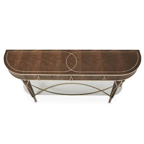 Villa cherie Console Table Hazelnut