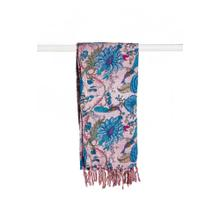 "18"" x 72"" Multi-colored Eclectic, Bohemian, Traditional - Scarf"