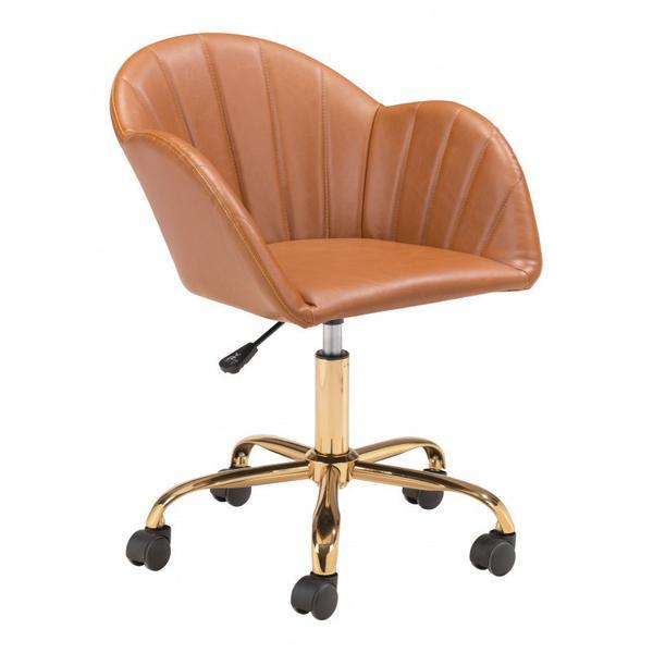 See Details - Sagart Office Chair Tan