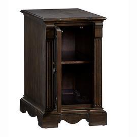 Chairside Cabinet - Walnut Finish