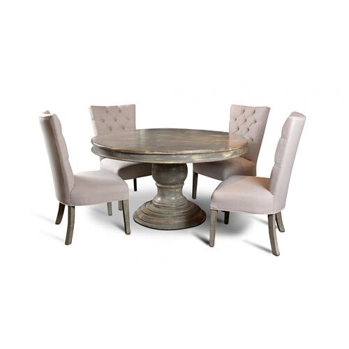 Horizon Home Furniture - Belort Feather Gray Dining