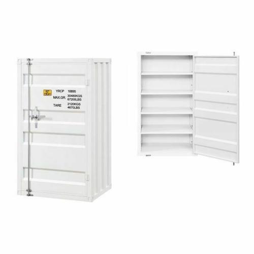 ACME Cargo Chest (Single Door) - 35910 - White